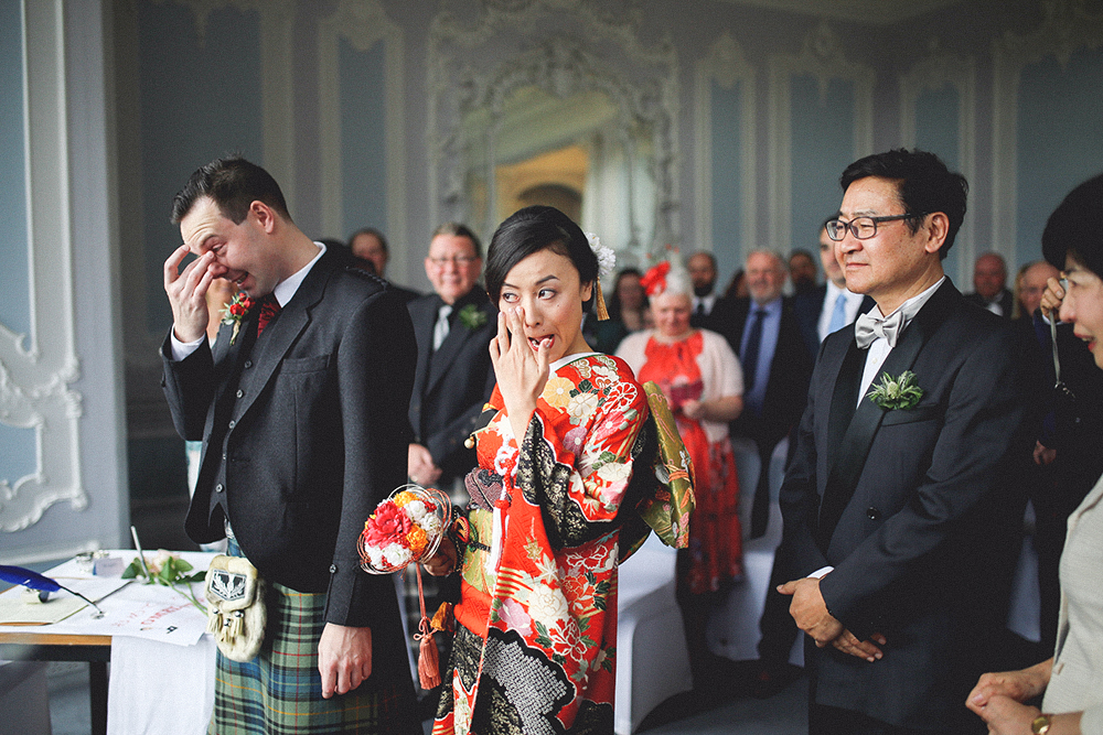 mariage au zoo de edimbourg