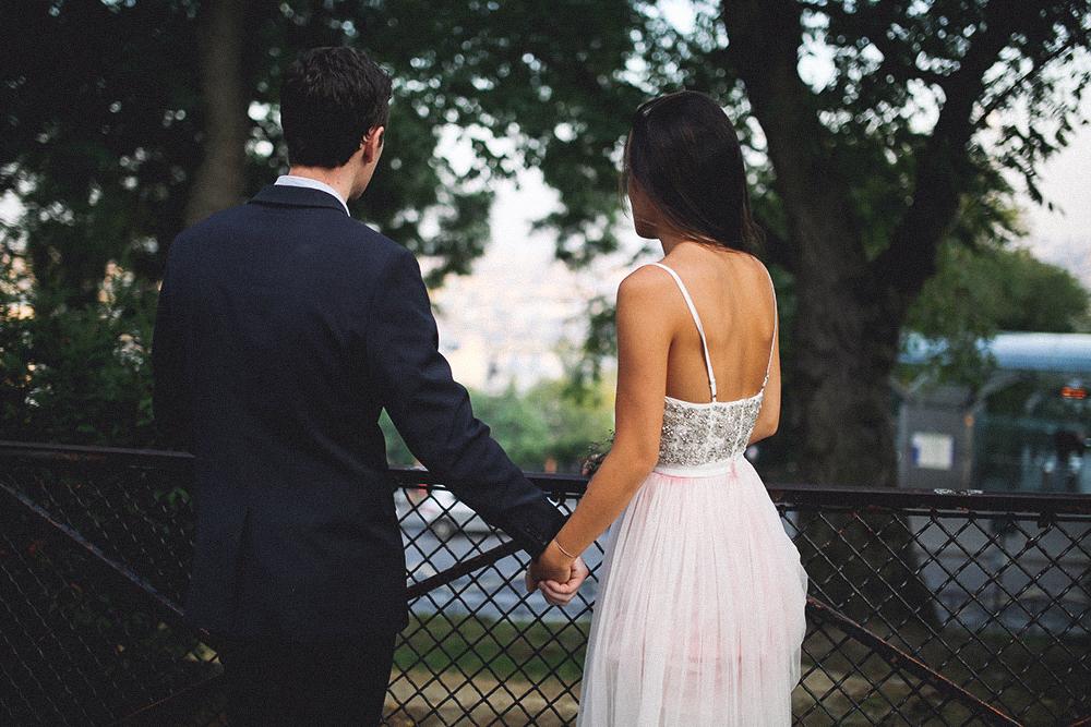 photos de maries a Montmartre