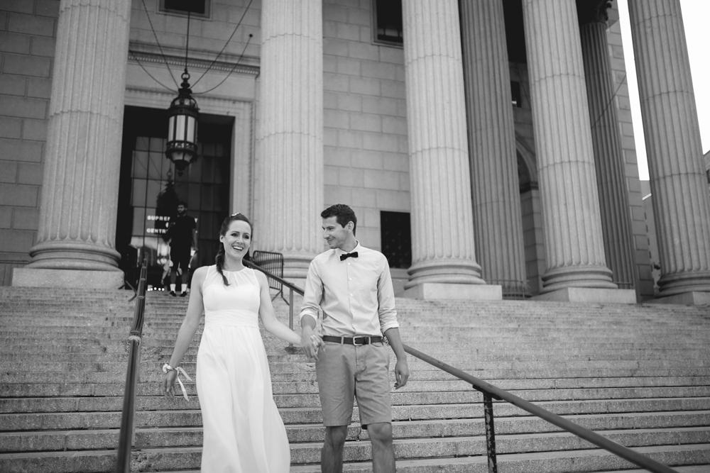 ceremonie a City Hall a New York