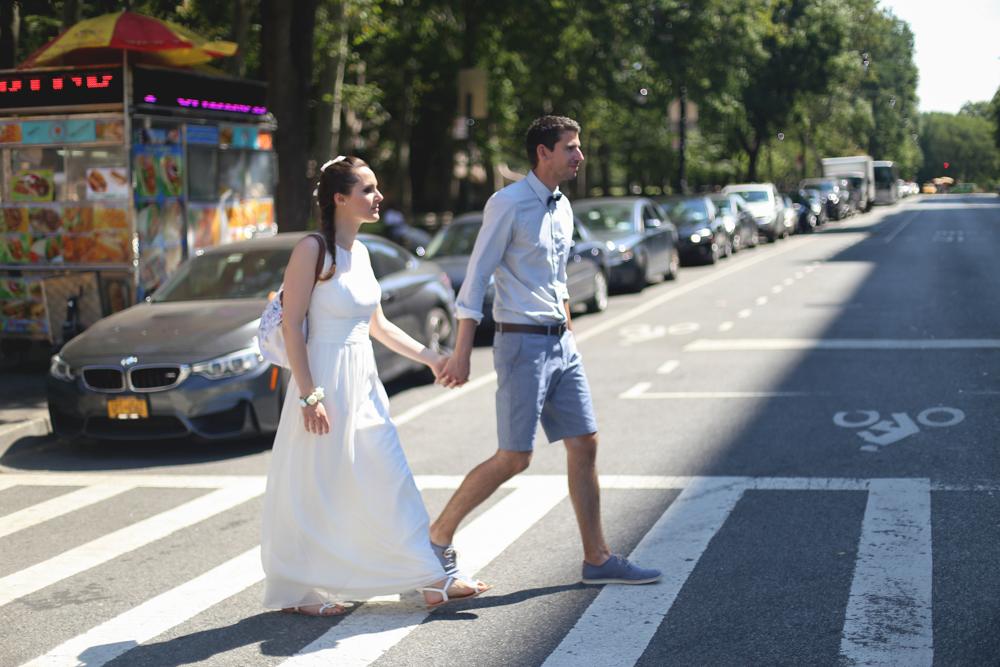 mariage francais a central park