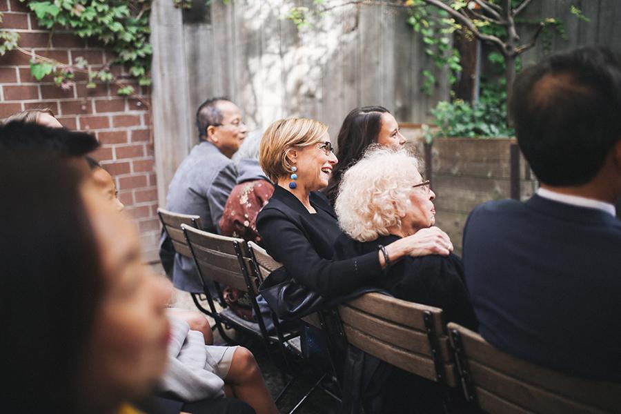 mariage francais a Brooklyn