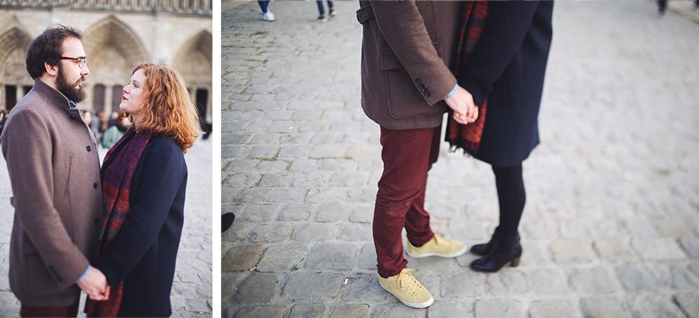 photos de couple a paris