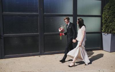 UN MARIAGE INDUSTRIEL CHIC A BROOKLYN