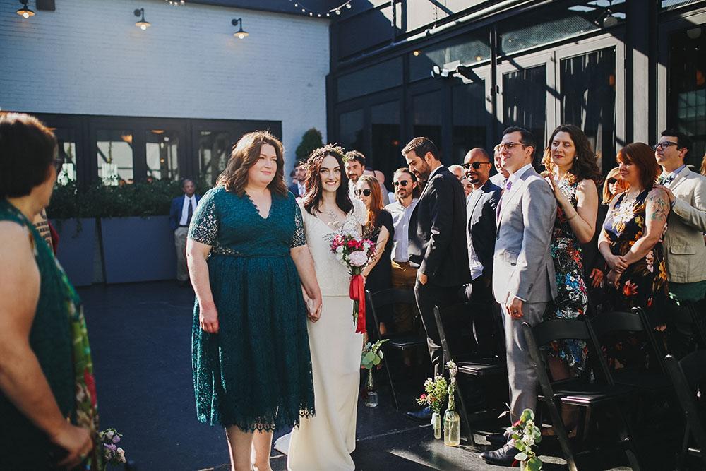 mariage industriel chic
