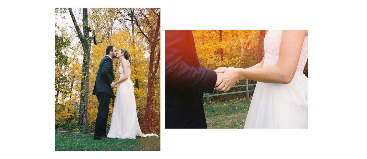 mariage champêtre dans une ferme locale